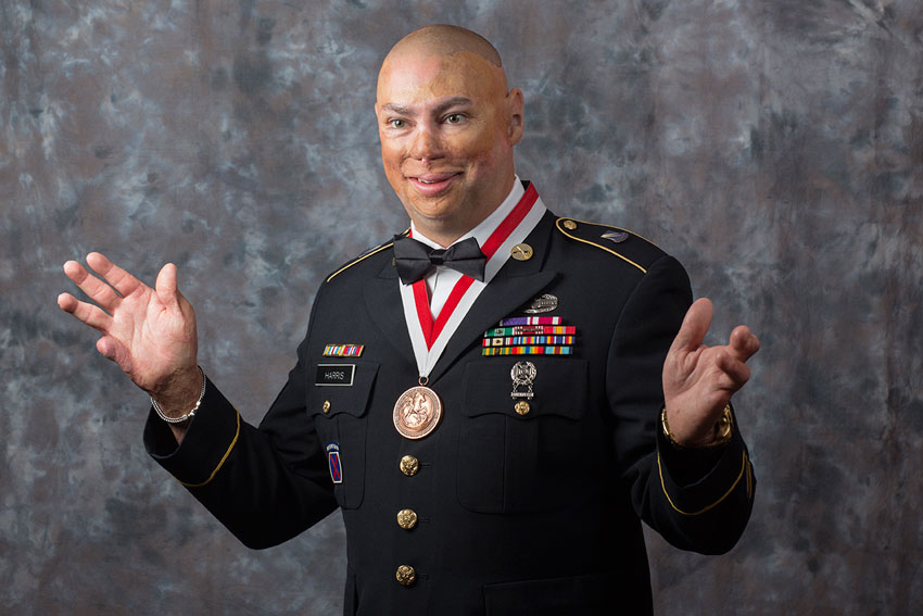 Shilo Harris, U.S. Army Staff Sgt. (Ret.) describes how chiropractic care saved his life.