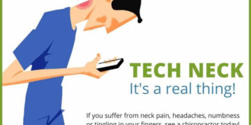 """Chiropractic Care Can Reverse """"Tech Neck"""""""