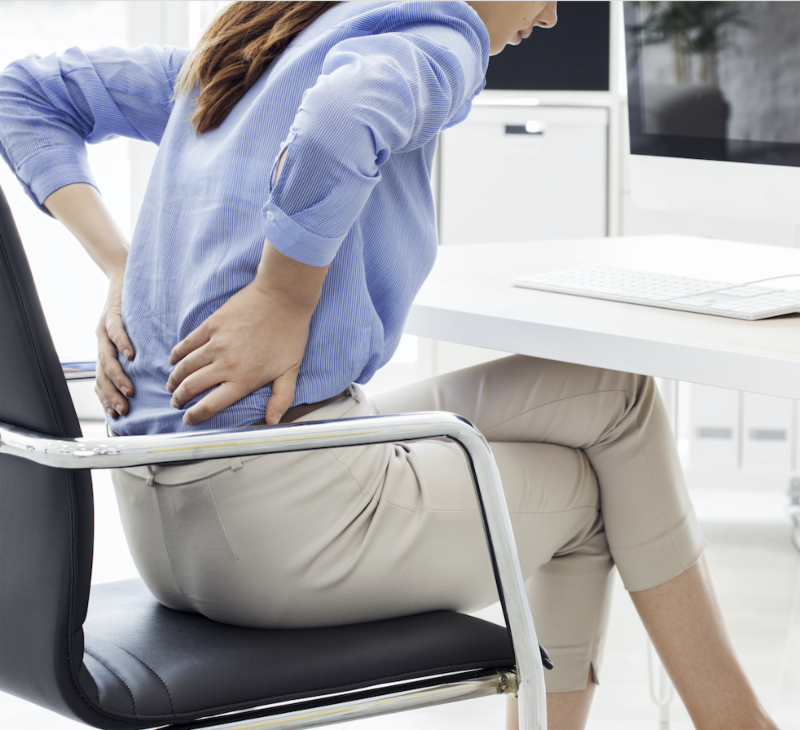 Chiropractic care helps with pain from the workforce