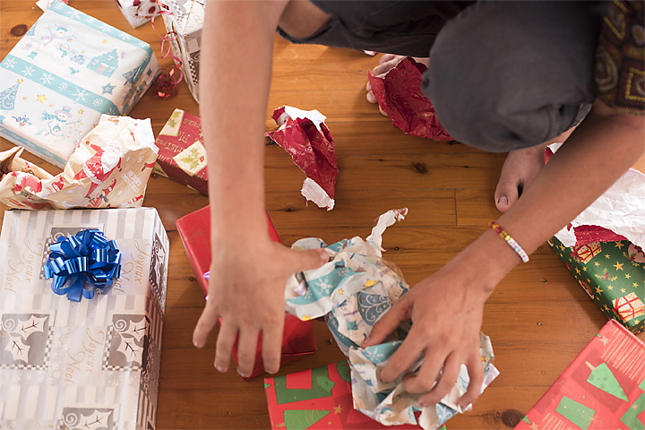 Are You Wrapping Christmas Gifts on the Floor?