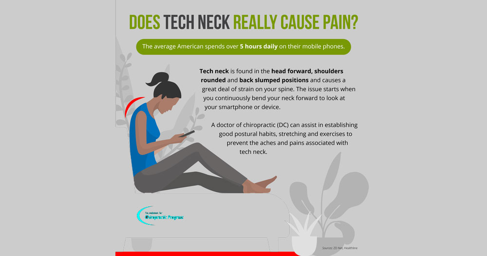 Are You Experiencing from the Symptoms of Tech Neck?