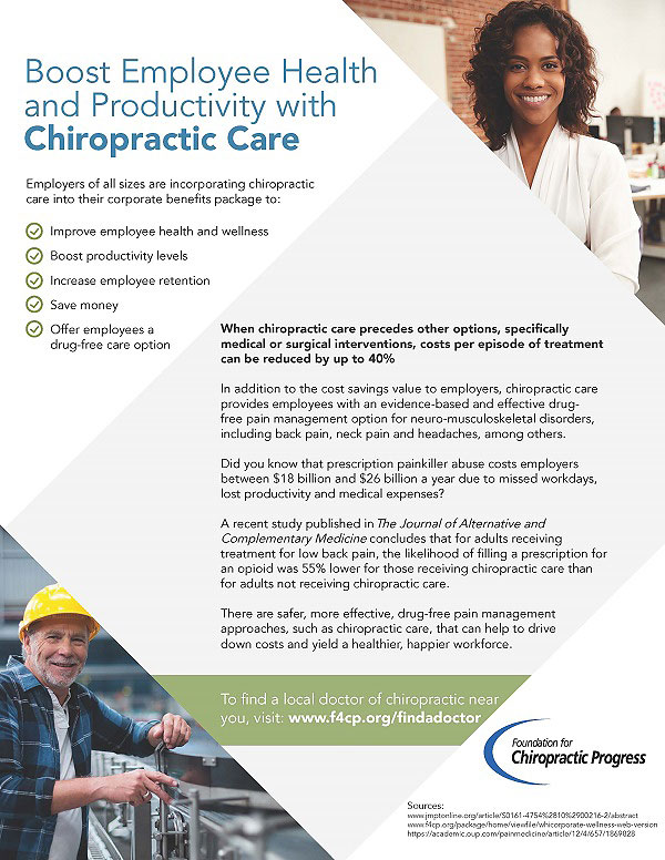 Increase Your Workplace Productivity With Chiropractic Care